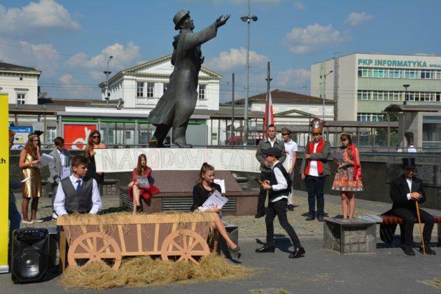 Narodowe Czytanie w Sosnowcu - fot. archiwum prywatne