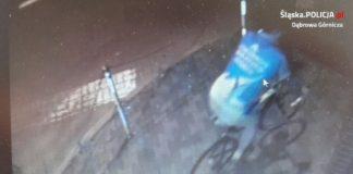 Zapis z kamery monitoringu – fot. KMP w Dąbrowie Górniczej