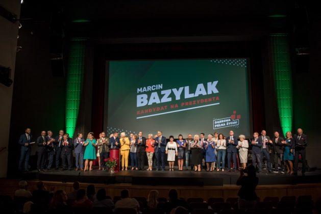 Konwencja wyborcza Marcina Bazylaka - fot. Bartosz Kowal