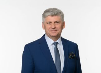 Edward Bober, kandydat na urząd prezydenta Dąbrowy Górniczej - fot. mat.pras.