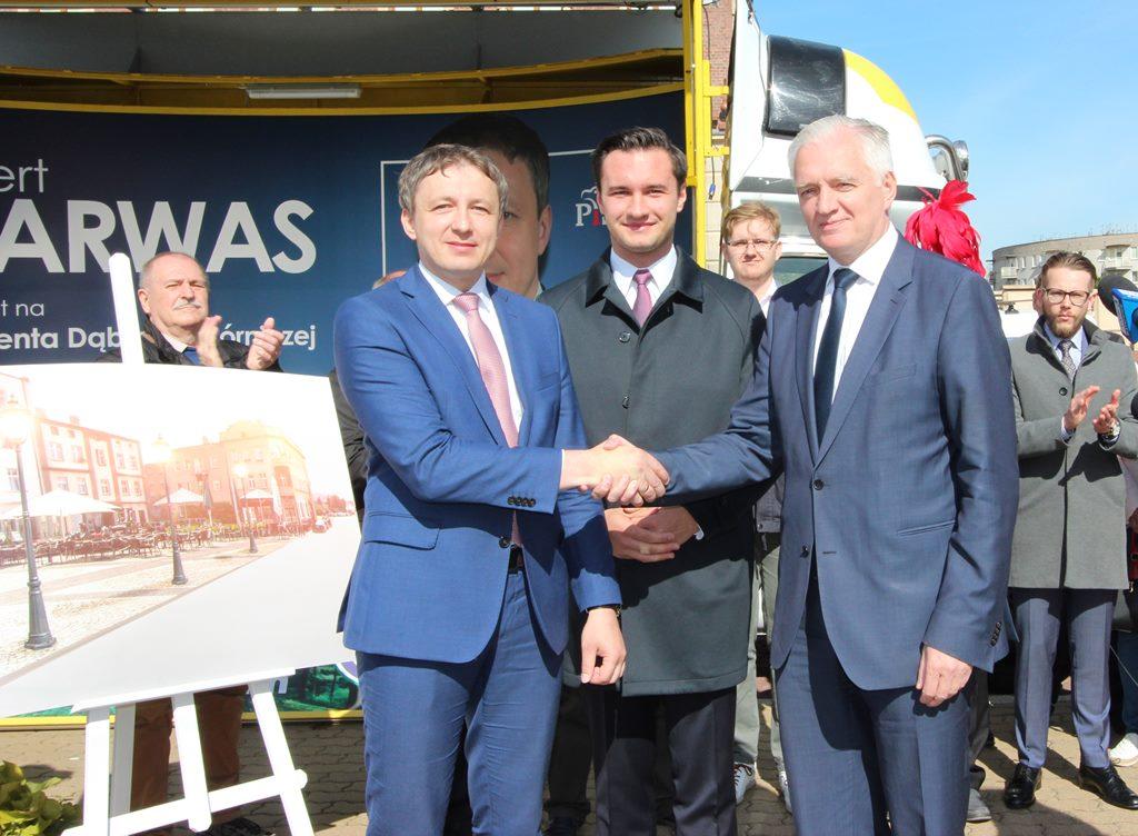Robert Warwas i Jarosław Gowin – fot. AR