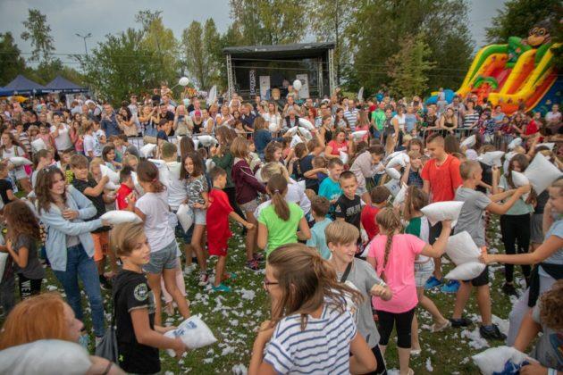 Wielka bitwa na poduszki w Sosnowcu - fot. UM Sosnowiec/PL
