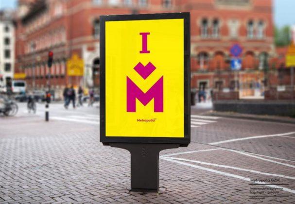 Nowe logo Metropolii GZM - fot. mat. pras.