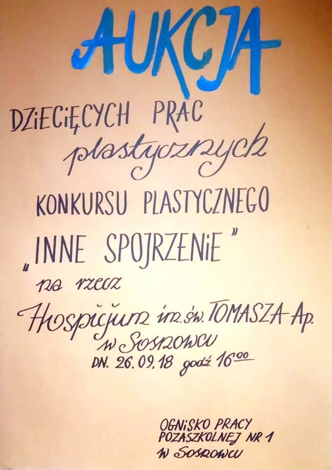 Aukcja na rzecz sosnowieckiego hospicjum – fot. mat.pras.