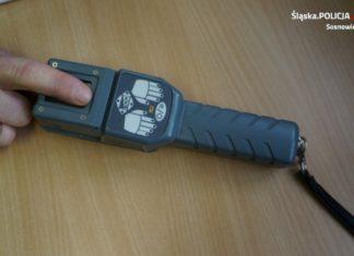 Policyjny sprzęt pomógł w ustaleniu tożsamości - fot. KMP w Sosnowcu