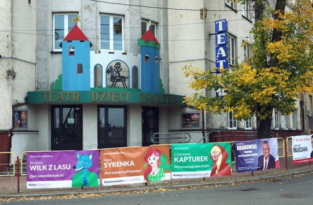 Teatr Dormana billboardy - fot. Teatr Dormana