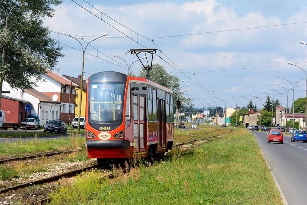 Inwestycje tramwajowe - fot. UM Będzin