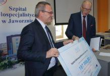 Dofinansowanie dla jaworznickiego szpitala – fot. UM Jaworzno