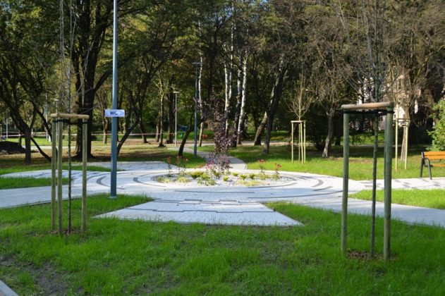Modernizacja park Hallera - fot. UM Dąbrowa Górnicza