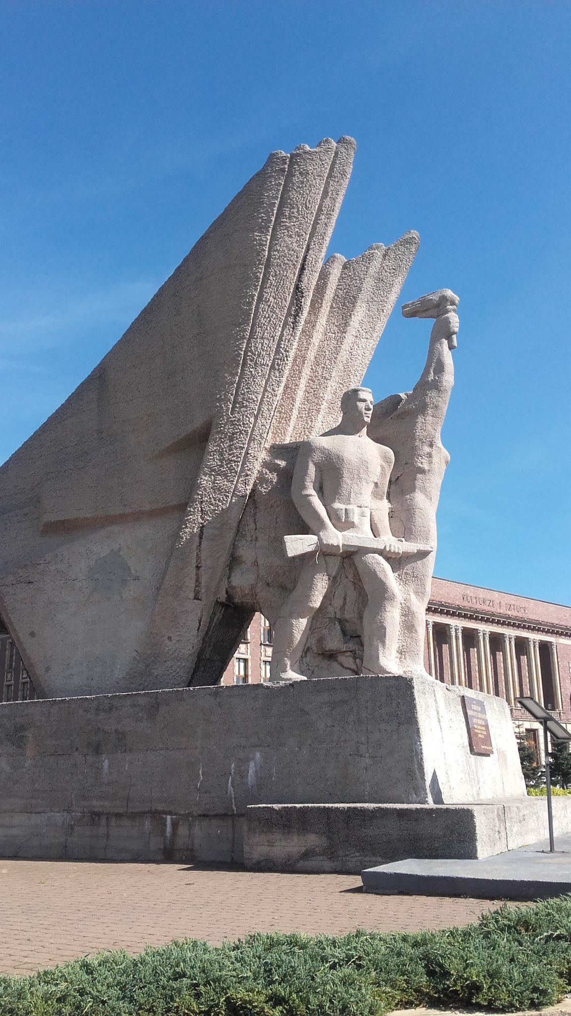 Pomnik Bohaterów Czerwonych Sztandarów - fot. AR