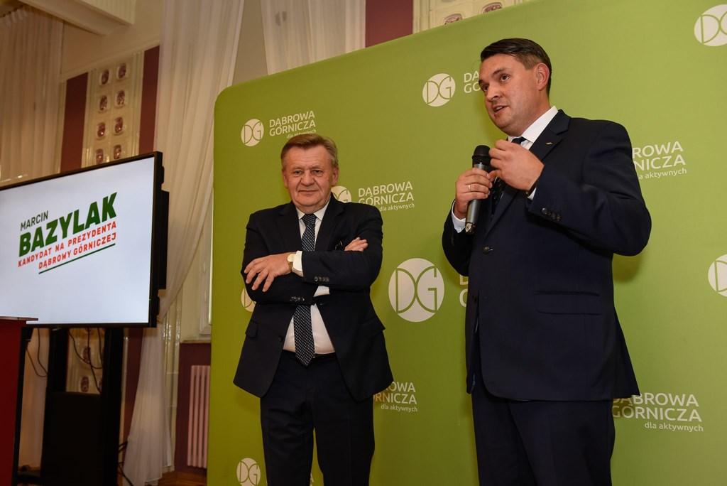 Zbigniew Podraza i Marcin Bazylak - fot. mat. pras.