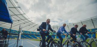 Rowery elektryczne dla urzędników metropolii – fot. Metropolia GZM