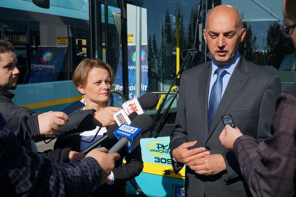 Stawiają na bezemisyjny transport publiczny – fot. UM Jaworzno