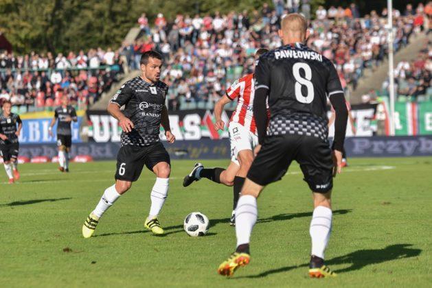 Zagłębie Sosnowiec – Cracovia 1:1 – fot. Wojciech Rejdych