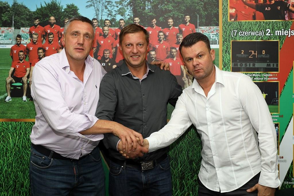 Valdas Ivanauskas nowym trenerem Zagłębia Sosnowiec – fot. zaglebie.eu