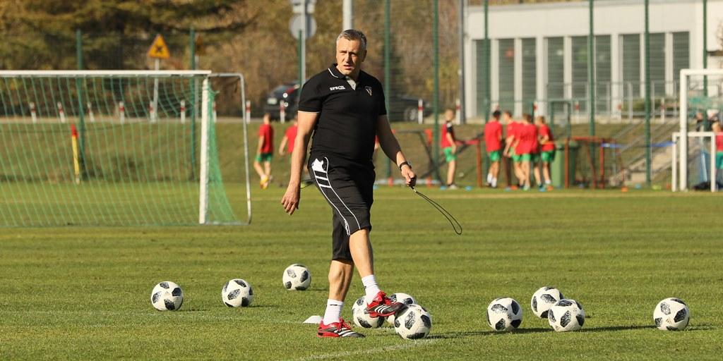Pierwszy trening Zagłębia pod wodzą Valdasa Ivanauskasa – fot. Marek Rybicki