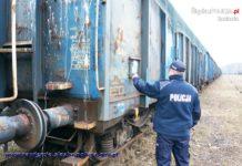 Zatrzymano mężczyzn, którzy okradali wagony – fot. Policja