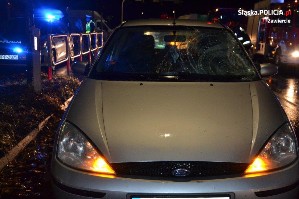 Wypadek - fot. Policja