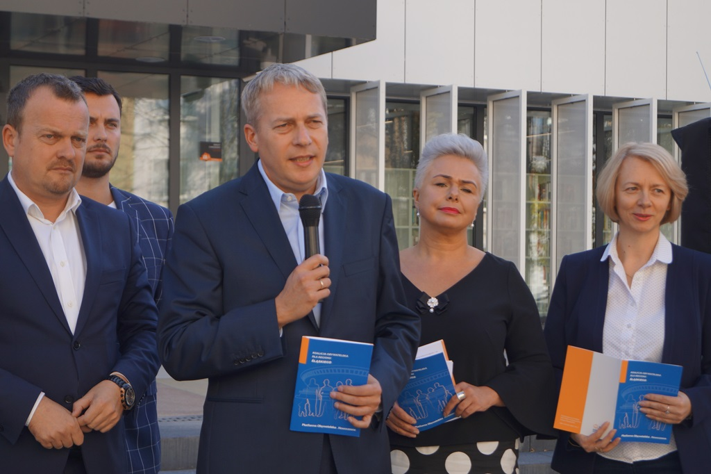 Koalicja Obywatelska kandydaci do sejmiku - fot. MC