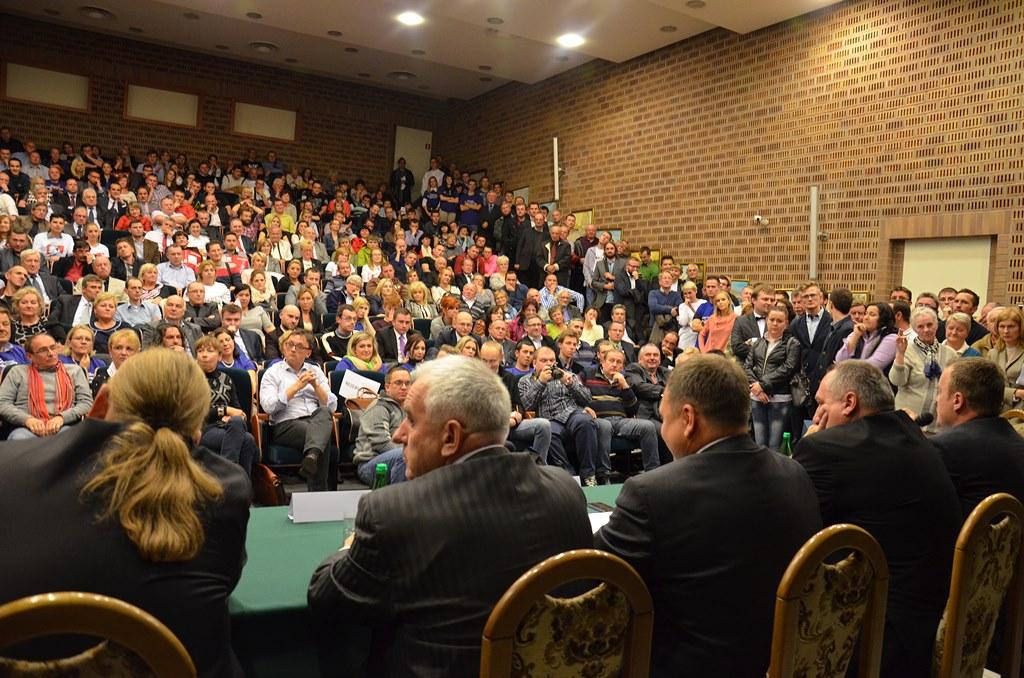 Debata prezydencka w 2014 roku – fot. Arch. TZ