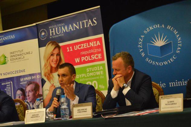 Debata prezydencka 2018 w Sosnowcu – fot. MZ