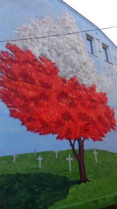 """Mural """"Drzewo życia"""" w Czeladzi – fot. arch. prywatne"""