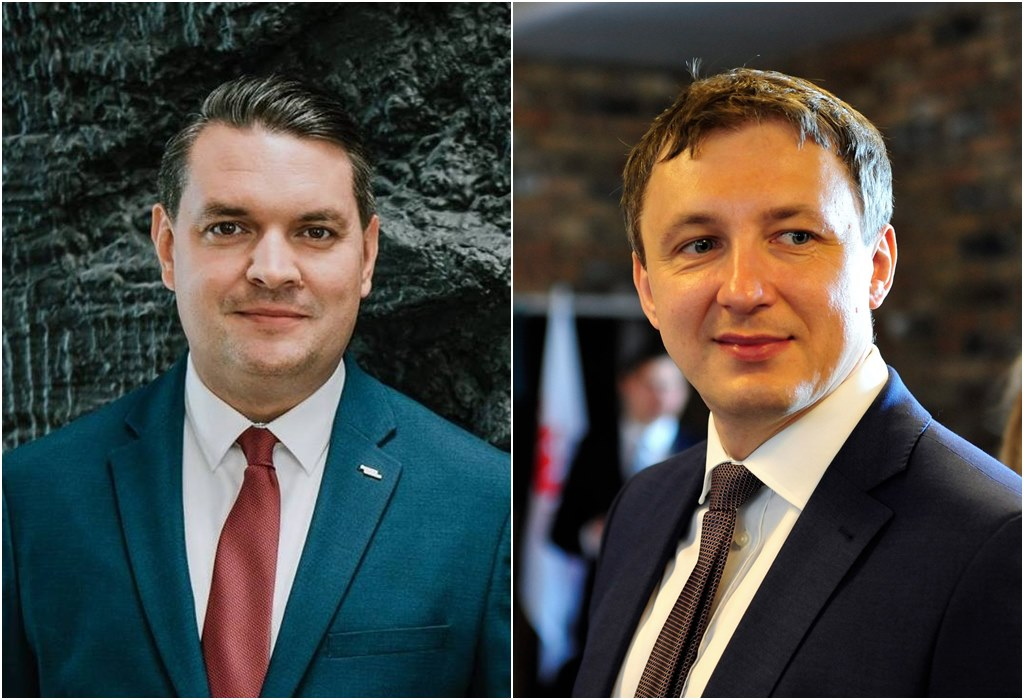 Marcin Bazylak i Robert Warwas - fot. Arch. TZ