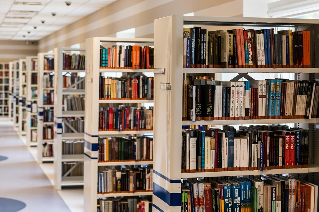 Książki - fot. Pixabay