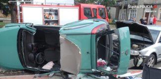 Poszukiwany sprawca wypadku - fot. KPP w Zawierciu