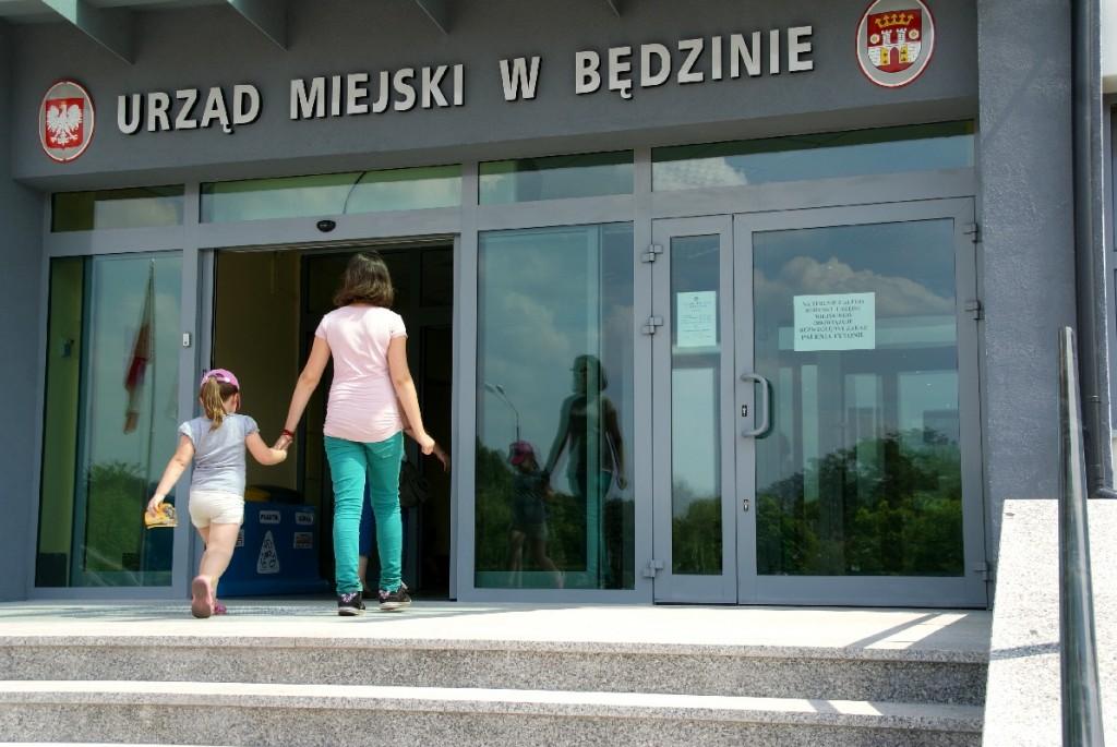 Urząd Miejski w Będzinie – fot. Arch. TZ
