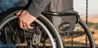 Wózek inwalidzki - fot. Pixabay