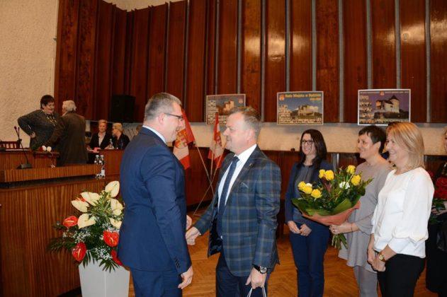 Sesja inauguracyjna kadencji 2018-2023 w Będzinie - fot. UM Będzin