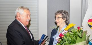 Małgorzata Czapla honorowym obywatelem Sosnowca – fot. UM Sosnowiec
