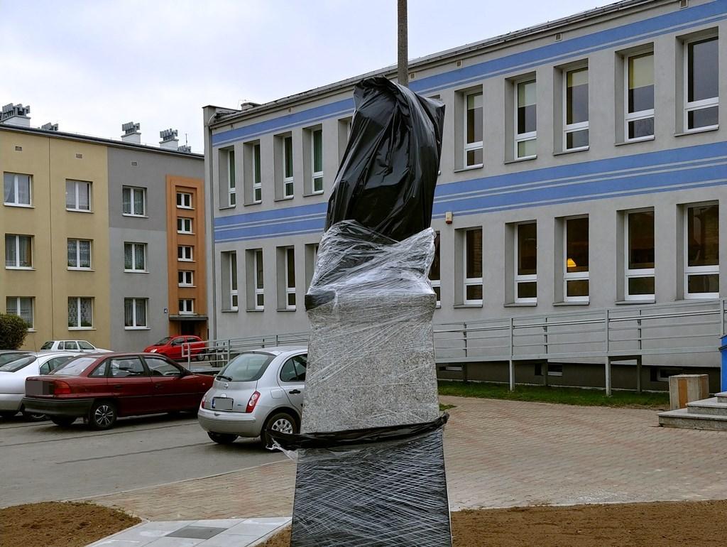 Pomnik Jurka Bitschana w Czeladzi – fot. mat. prasowe