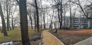 Remont alejek w Parku Alfred - fot. UM Czeladź