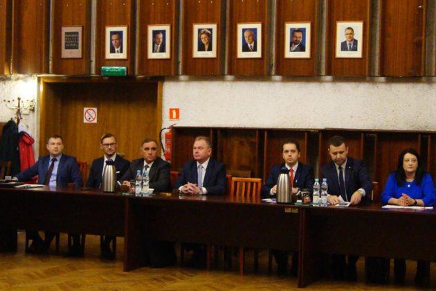 Sesja inauguracyjna kadencji 2018-2023 w Będzinie - fot. MC