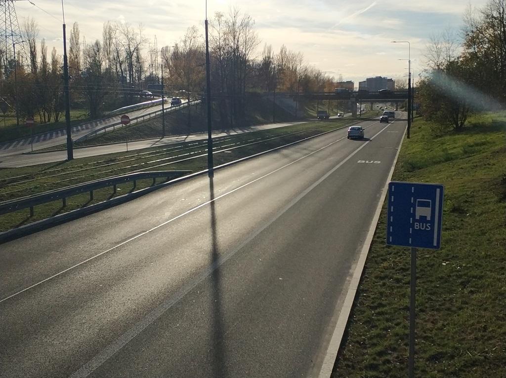 Buspas w Sosnowcu - fot. MC