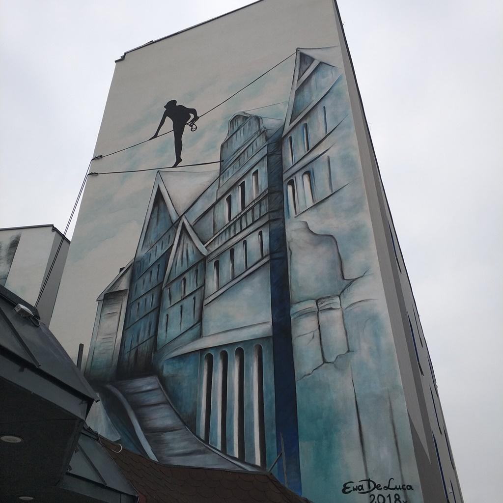 Mural Balans na linach - fot. MC