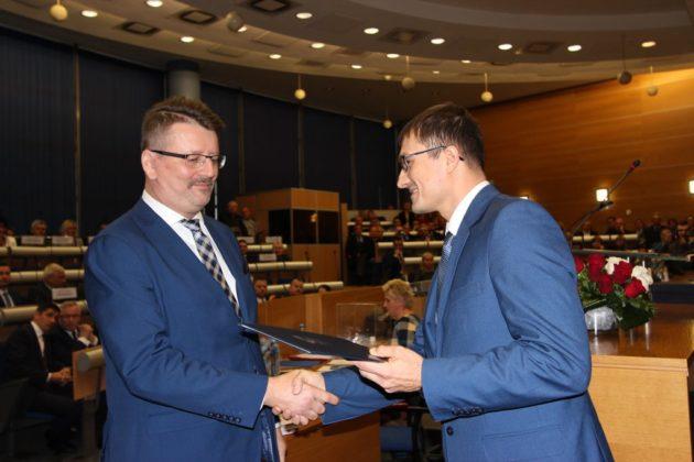 Sesja inauguracyjna kadencji 2018-2023 w Dąbrowie Górniczej – fot. AR