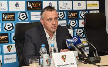 Valdas Ivanauskas - fot. Wojciech Rejdych