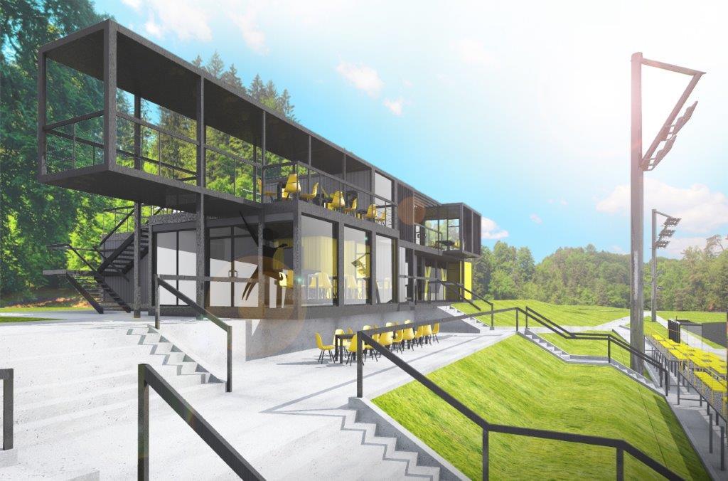 Nowy kompleks sportowo-rekreacyjny w Klimontowie - fot. UM Sosnowiec