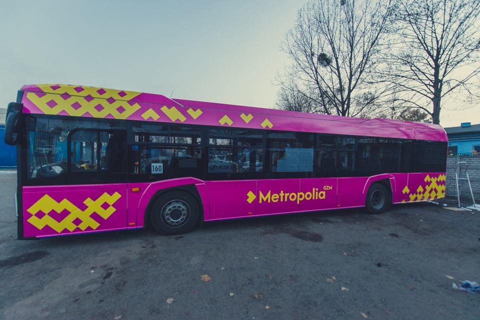 Autobus na lotnisko - fot. Metropolia GZM