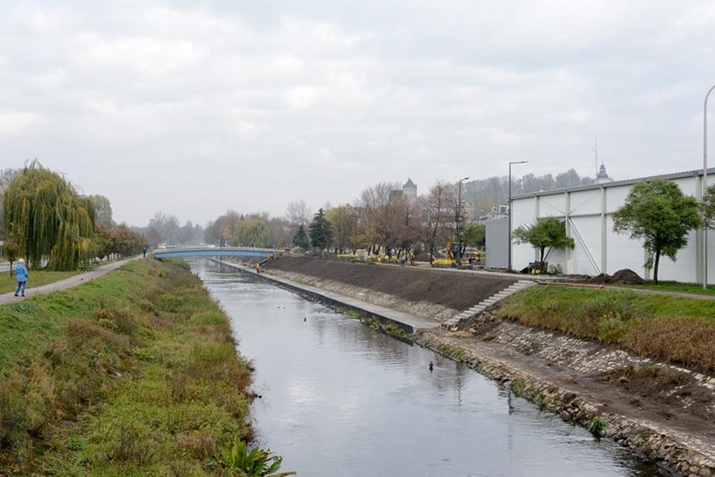Modernizacja bulwarów Czarnej Przemszy w Będzinie – fot. UM Będzin