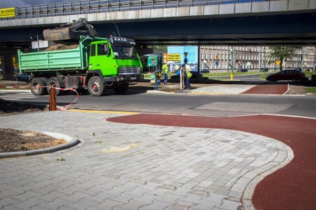 Nowe przejście dla pieszych - fot. UM Sosnowiec