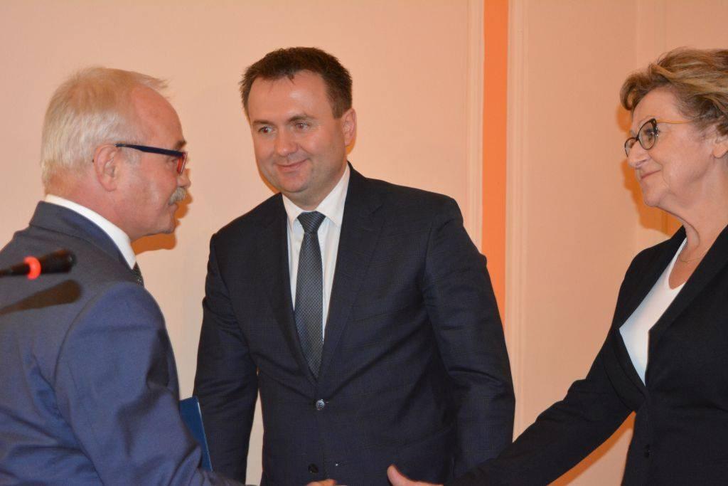 Sebastian Szaleniec - fot. Starostwo Powiatu Będzińskiego