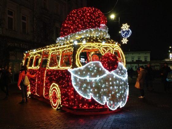 Ozdoby świąteczne w Sosnowcu - fot. MC
