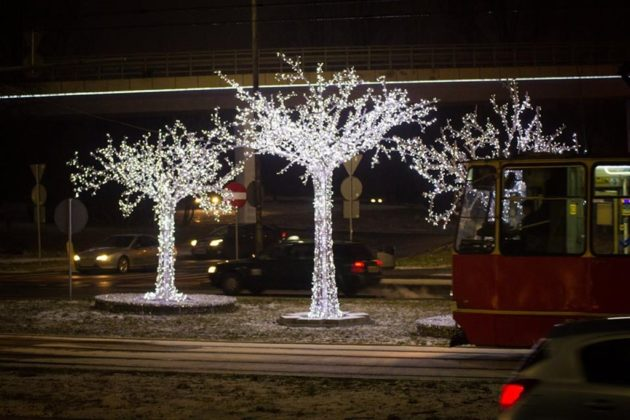 Ozdoby świąteczne w Sosnowcu - fot. UM Sosnowiec