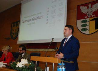 Prezydent Dąbrowy Górniczej prezentuje budżet miasta na 2019 rok - fot. UM Dąbrowa Górnicza