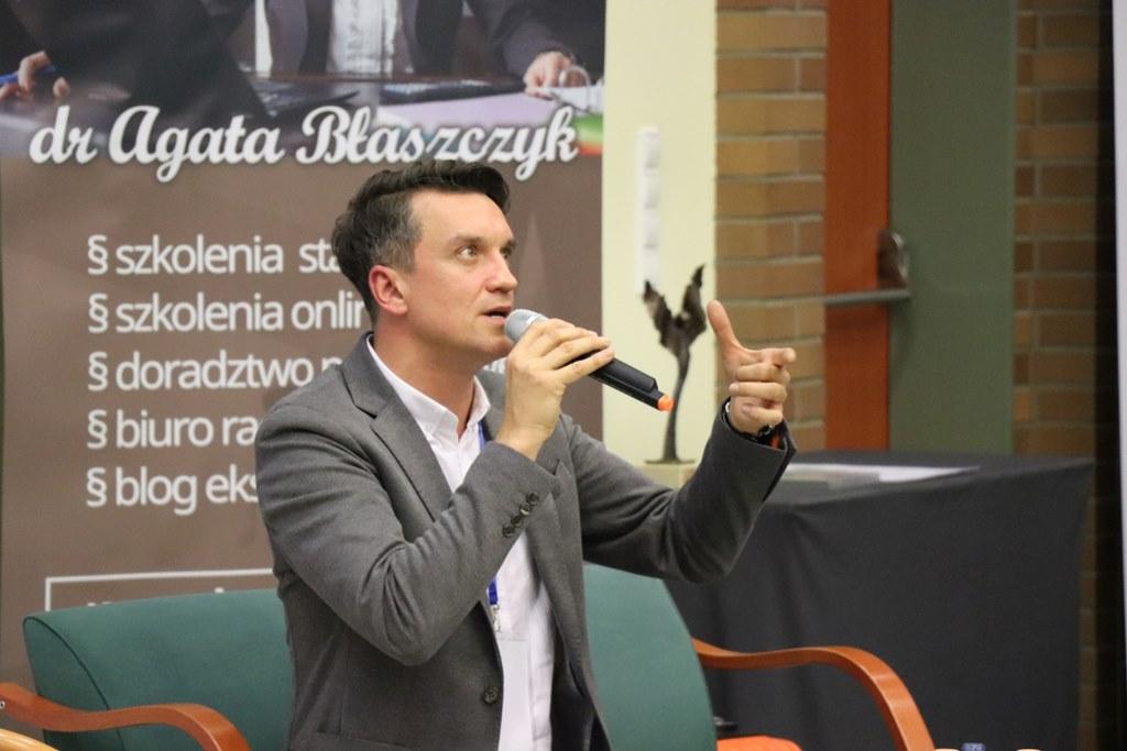 Michał Czernecki – fot. Wyższa Szkoła Humanitas