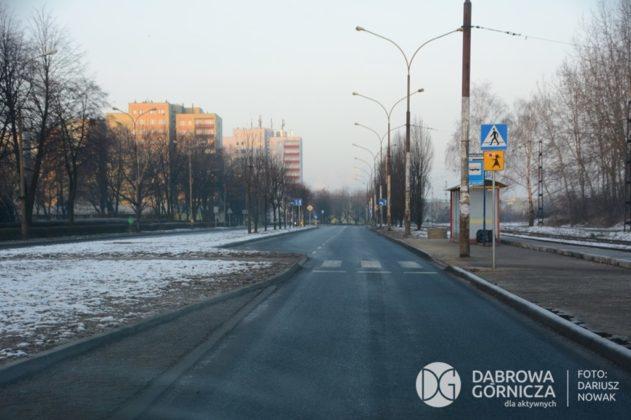 Ulica Kasprzaka w Dąbrowie Górniczej - fot. Dariusz Nowak/UM Dąbrowa Górnicza